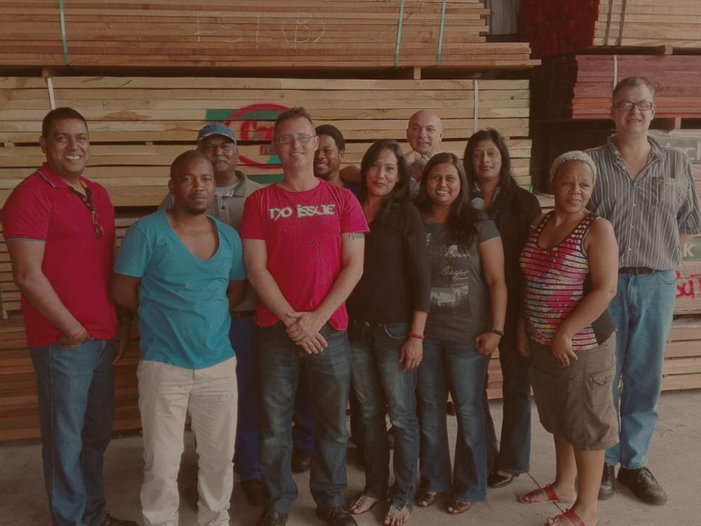 Tegs Timbers Durban Team