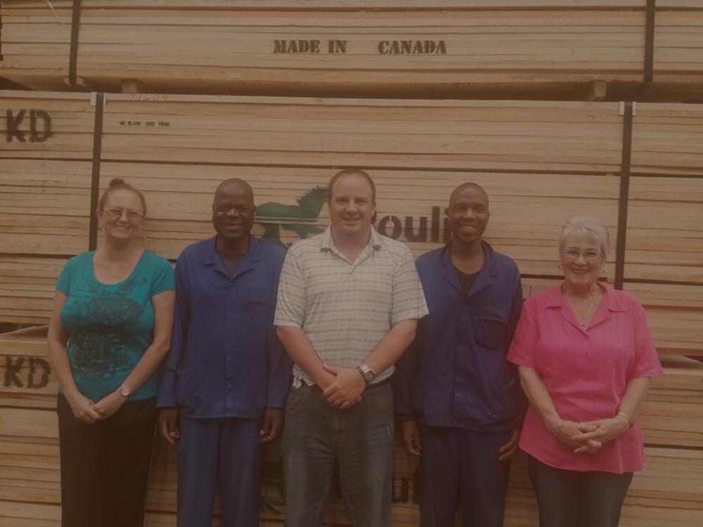 Tegs Timbers Johannesburg Team