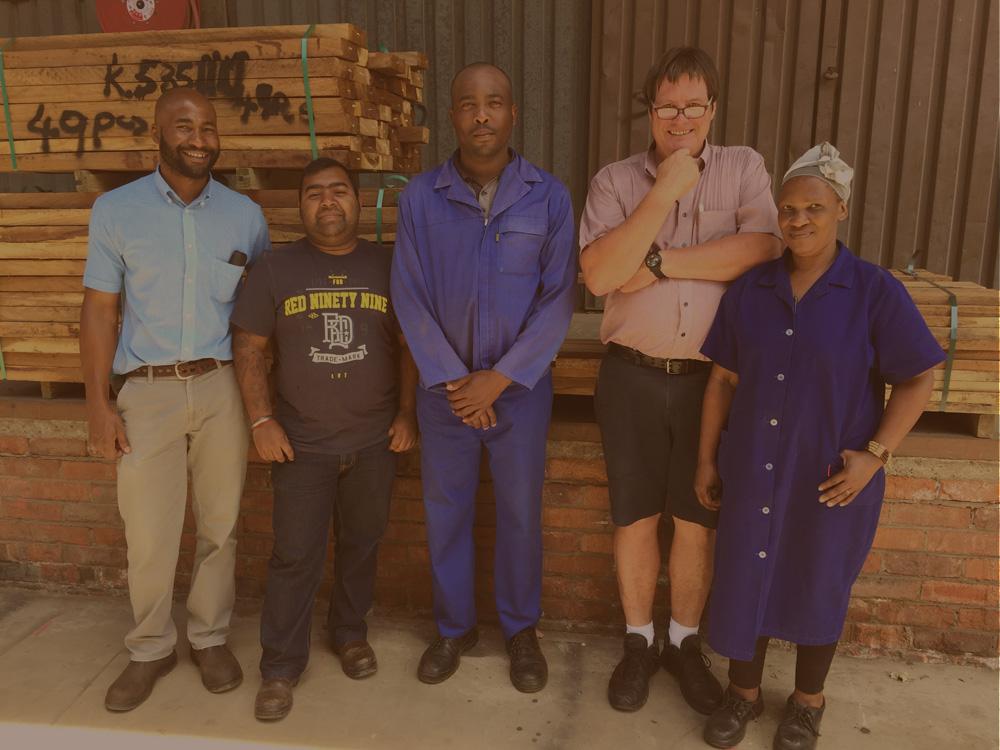 Tegs Timbers Pietermaritzburg Team